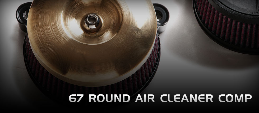 67 ROUND AIR CLEANER COMP